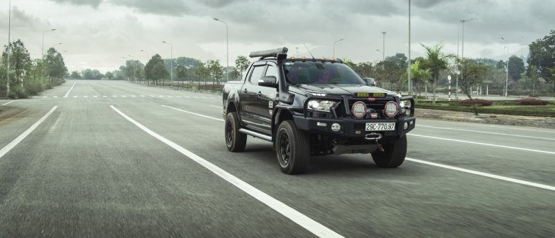 Ford Ranger Wildtrak độ cản